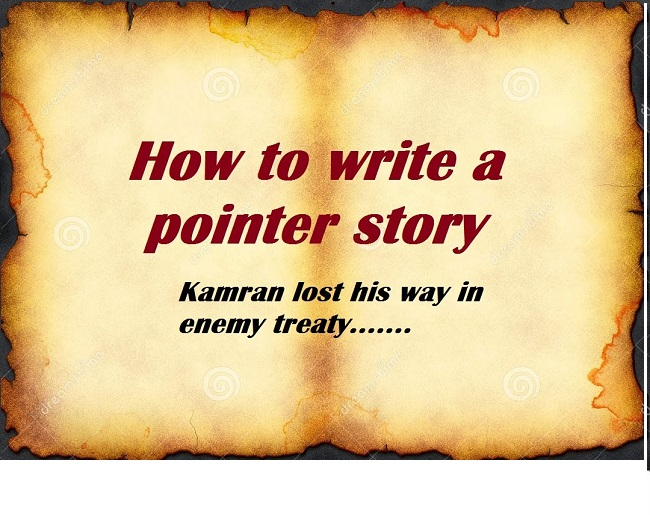ISSB Pointer Story Writing